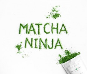 Matcha Ninja 100%  Pure Green Tea Leaves  10 Χ 1,5gr
